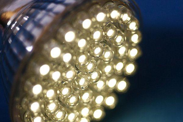 LED bulb electrical header 1