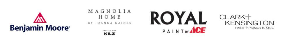 Paint Center logos