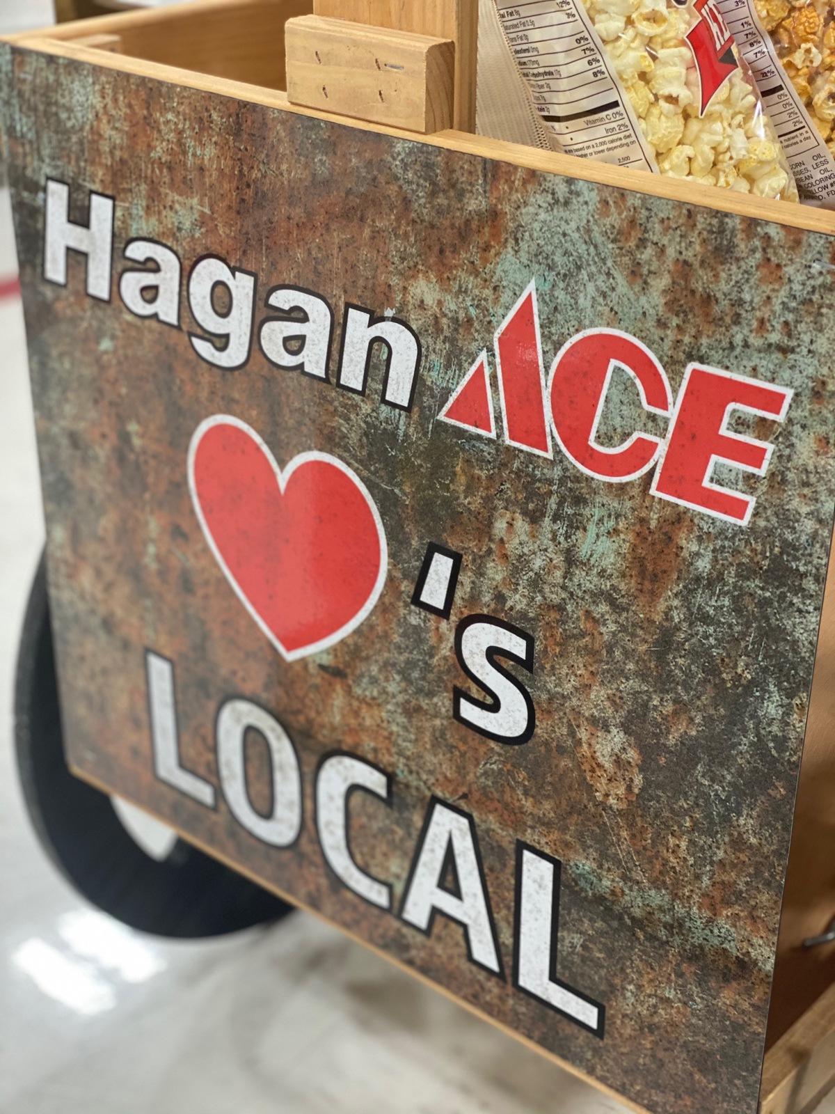 Hagan ace loves local cart 1