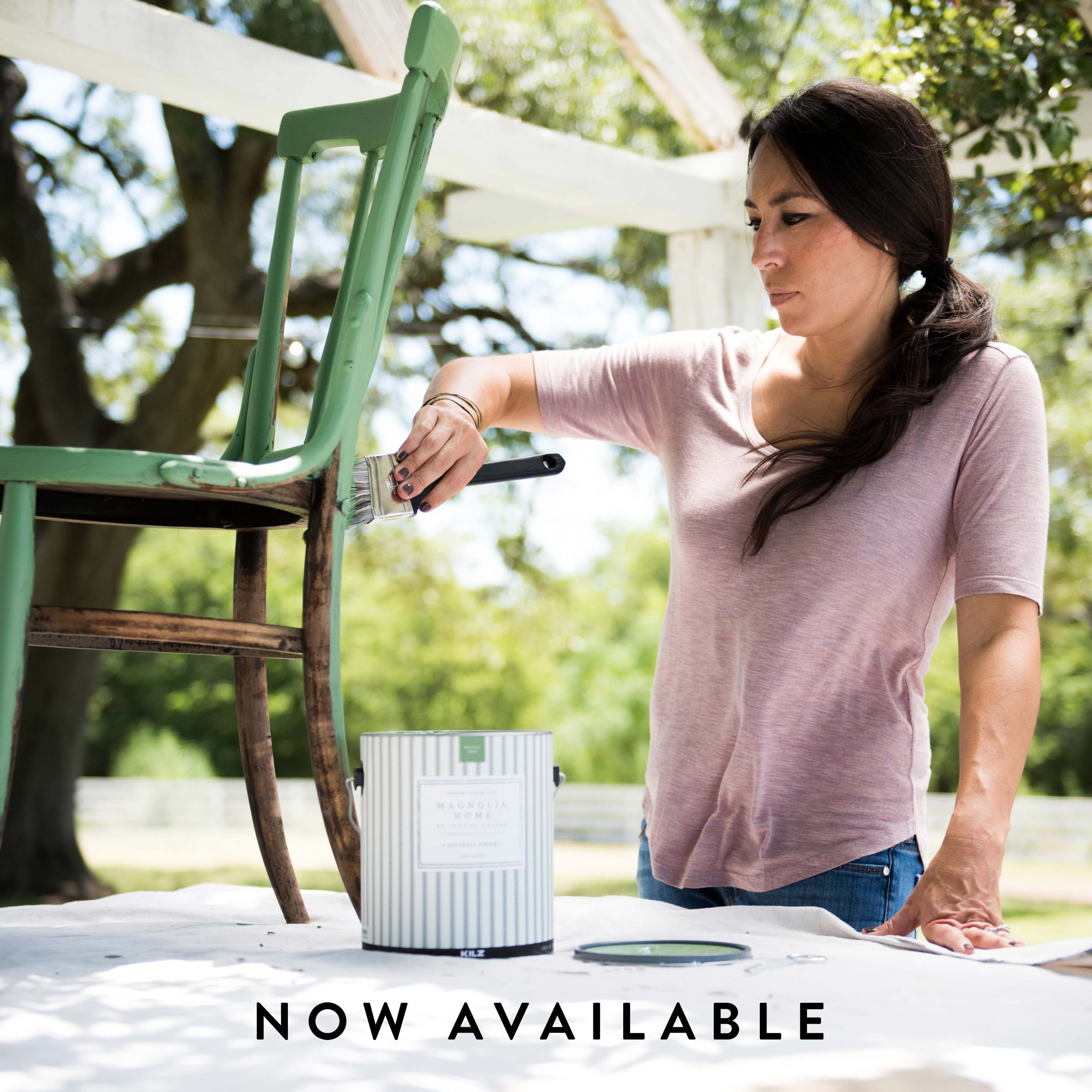 C MAGNOLIA SQUARE TEASER JOANNA PAINTING NOW AVAILABLE