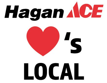 Hagan Ace Loves Local stacked