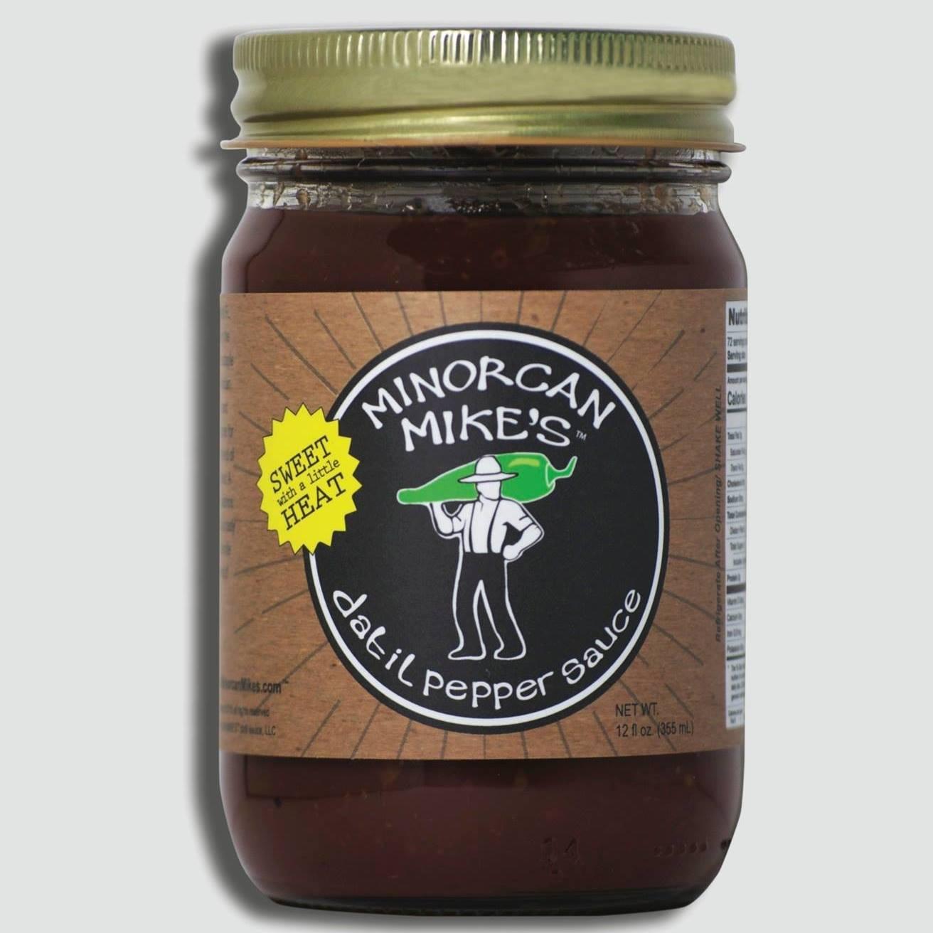 Minorcan mikes datil sauce